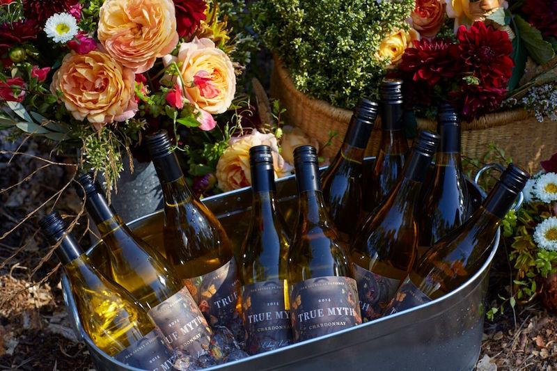Bottles of True Myth Chardonnay