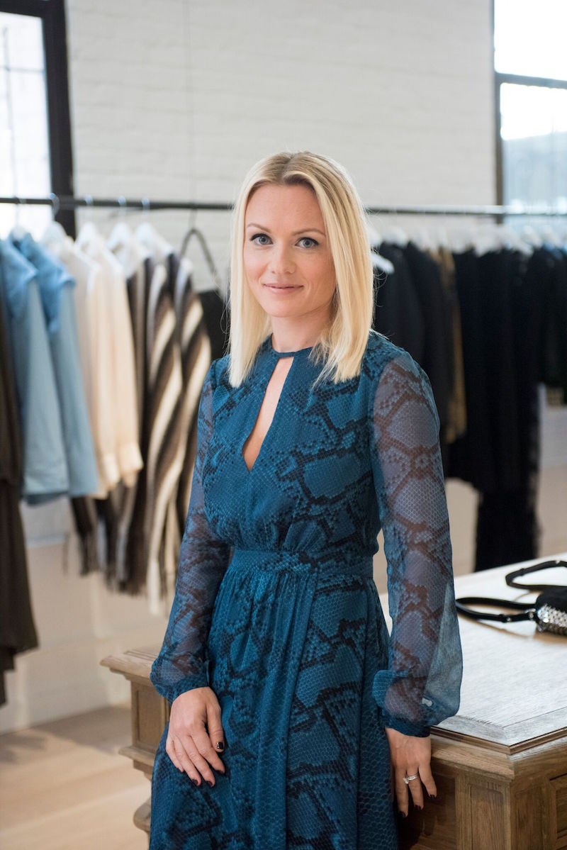 Pia Øien Cohler in her namesake boutique