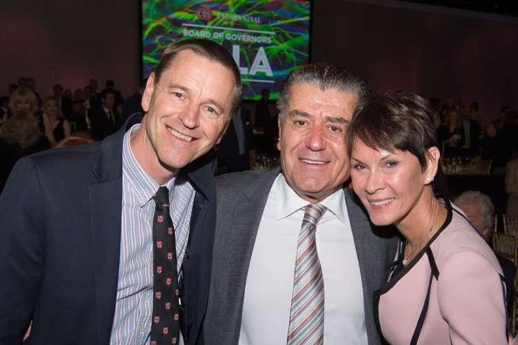 Dr. Clive Svendsen, Haim and Cheryl Saban