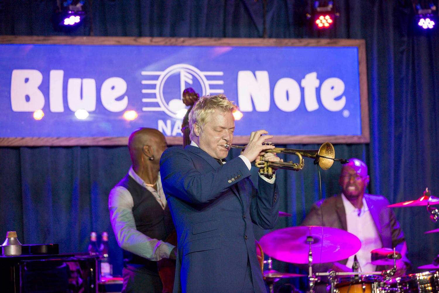 Chriss Botti performs at Blue Note Napa