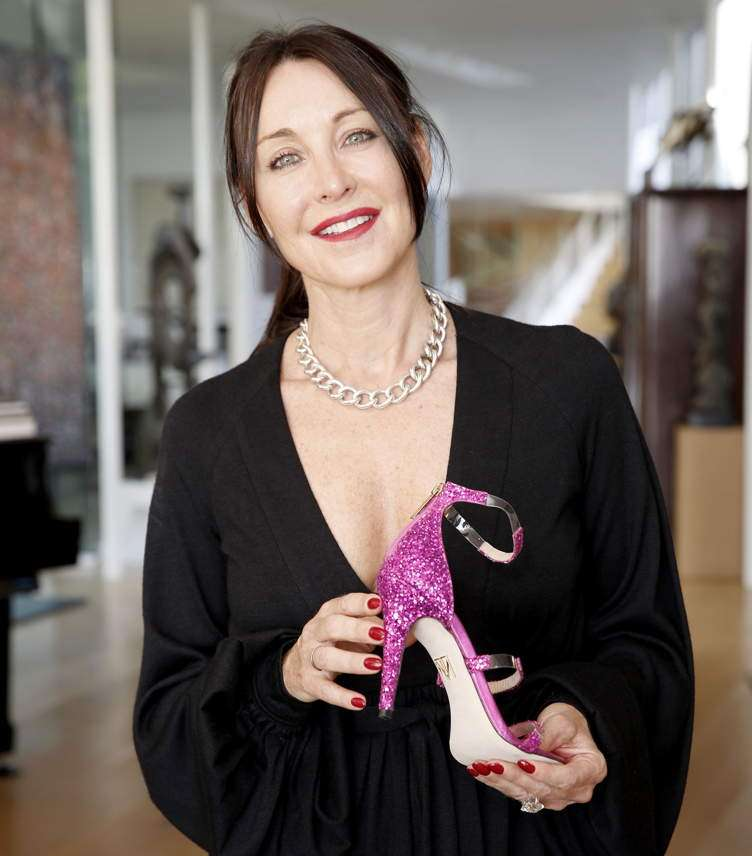 Tamara Mellon Celebrates The Relaunch Of Her Luxury Shoe Brand