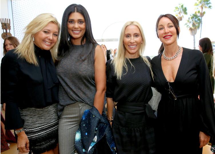 Erica Zohar, Rachel Roy, Alexandra Von Furstenberg and Tamara Mellon