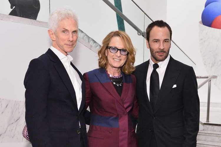 Richard Buckley, Annie Philbin and Tom Ford