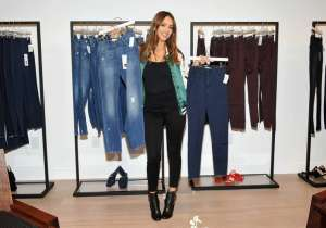 Actress Jessica Alba debuts the DL1961 x Jessica Alba Collection  at the REVOLVE Social Club