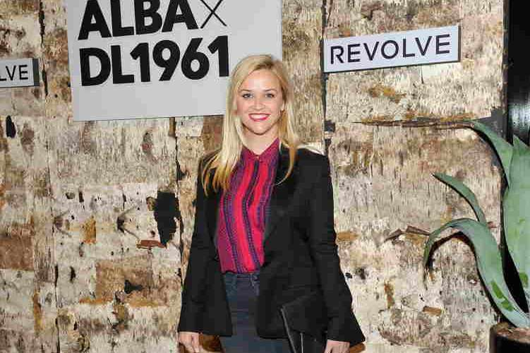 Reese Witherspoon attends the DL1961 x Jessica Alba Collection Event at the REVOLVE Social Club