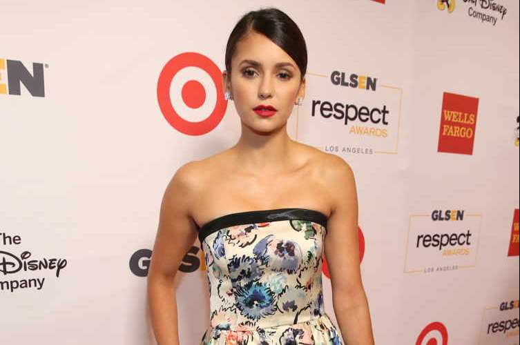 Actress Nina Dobrev attends the 2016 GLSEN Respect Awards