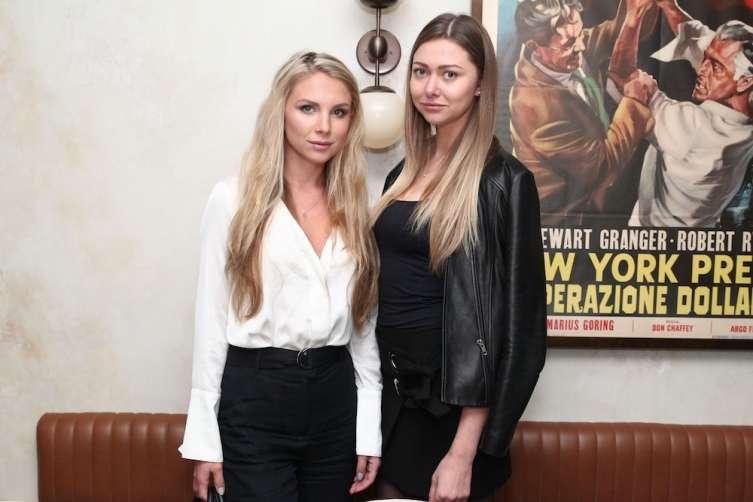 Karina Lask and Elizaveta Lyadova