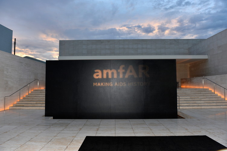 amfAR's Inspiration Gala Los Angeles was held at Milk Studios