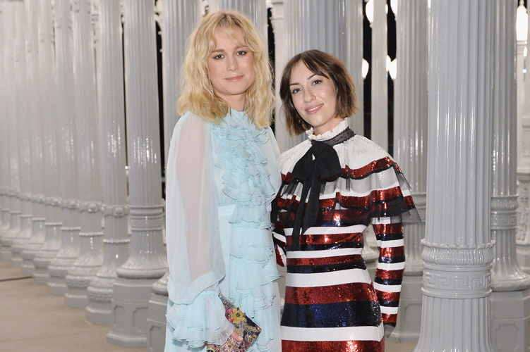Actress Brie Larson and director Gia Coppola