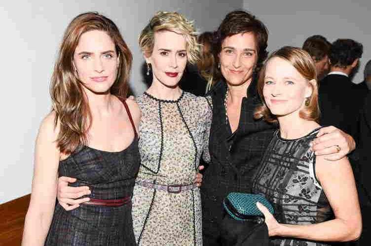 Amanda Peet, Sarah Paulson, Alexandra Hedison and Jodie Foster,