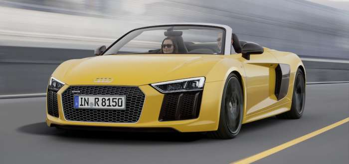 6 Reasons to Bid on the Audi MY18 R8 Spyder at Naples Wine Fest