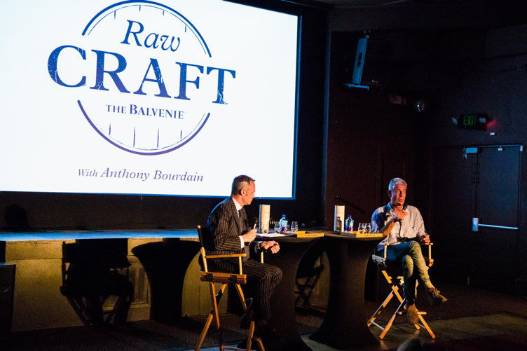 "Anthony Bourdain at the LA screening of ""Raw Craft"""