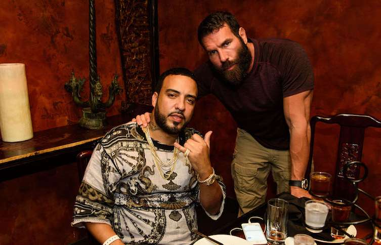 French Montana and Dan Bilzerian at Tao.