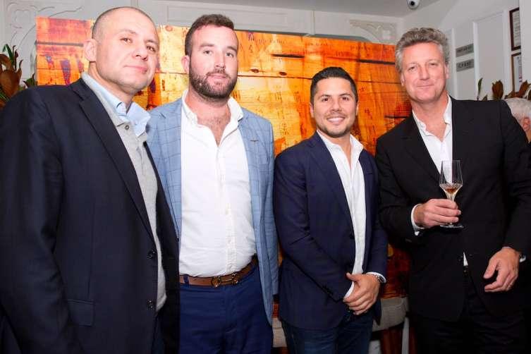 Ronn Torossian, Mitch Walker, Antonio Caballero, and Yves De Launay