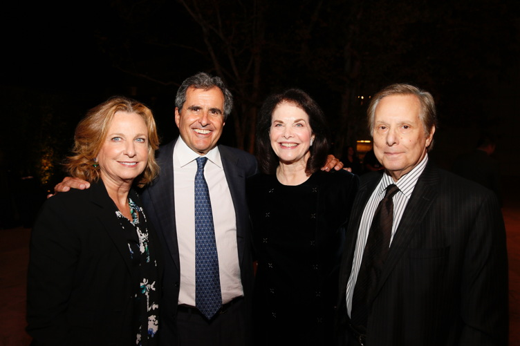 Megan Chernin, Peter Chernin, Sherry Lansing and William Friedkin