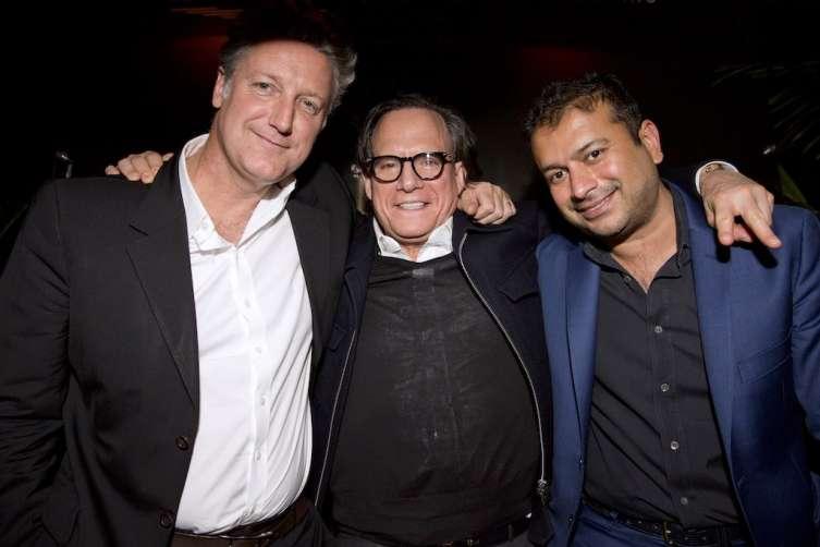Yves De Launay, Richard Anthony and Kamal Hotchandani