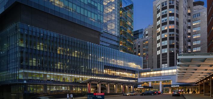 Massachusetts General Hospital in Boston, Massachusetts