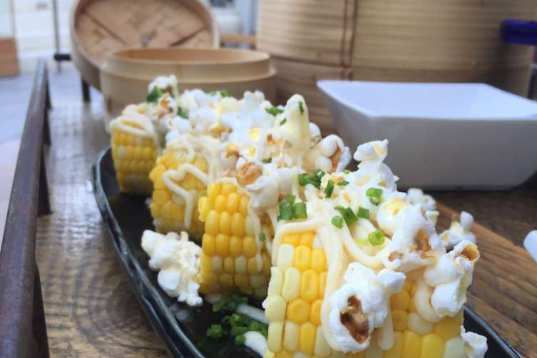 Corn on the cobb