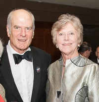 Ann and Graham Gund at the 15th Anniversary Gala of Boston Landmarks Orchestra, Saturday, October 1, 2016 at the Mandarin Oriental, Boston, MA
