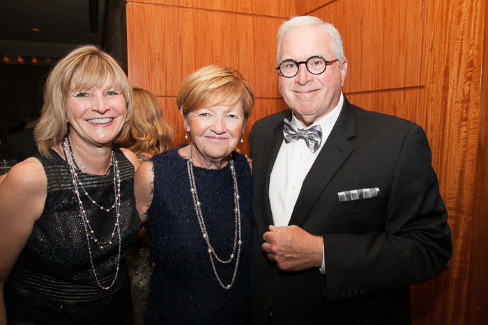 Laura Connors and Guests at 15th Anniversary Gala of the Boston Landmarks Orchestra, Saturday, October 1, 2016 at the Mandarin Oriental, Boston, MA