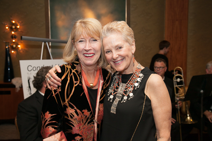 Jo Frances Meyer and Swanee Hunt