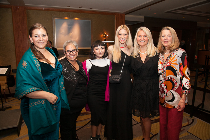 Program Director of ZUMIX, Jenny Shulman, Michelle Botticelli, Singer Angelina Botticelli, Sonia Tita Puopolo, Founder of ZUMIX Madeleine Steczynski