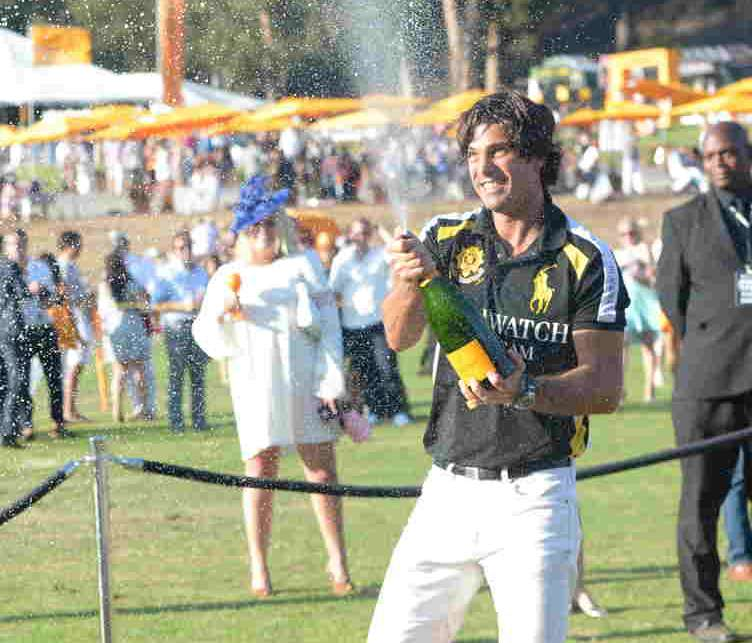 Nacho Figueras co-hosts the Sixth-Annual Veuve Clicquot Polo Classic at Will Rogers State Historic Park on October 17, 2015