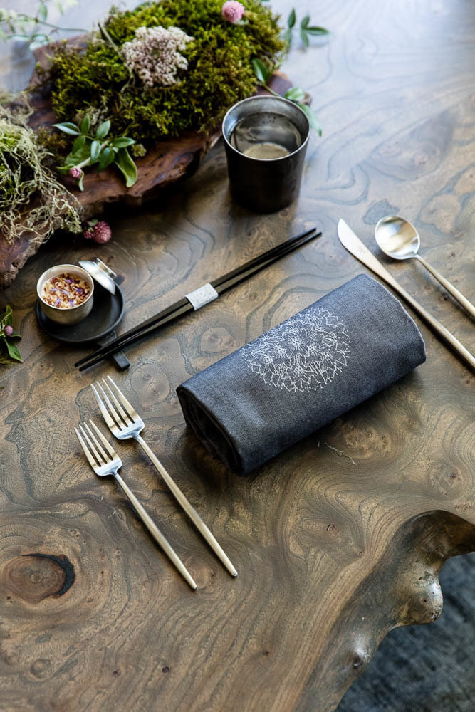 A place setting at Single Thread
