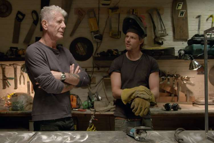 Anthony Bourdain learns about Balvenie