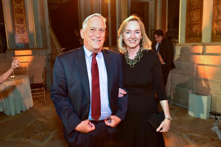 Walter Isaacson, Cathy Isaacson== The New York Women's Foundation's 2016 Fall Gala== The Plaza, NY== October 13, 2016== ©Patrick McMullan== Photo - Sean Zanni/PMC== ==
