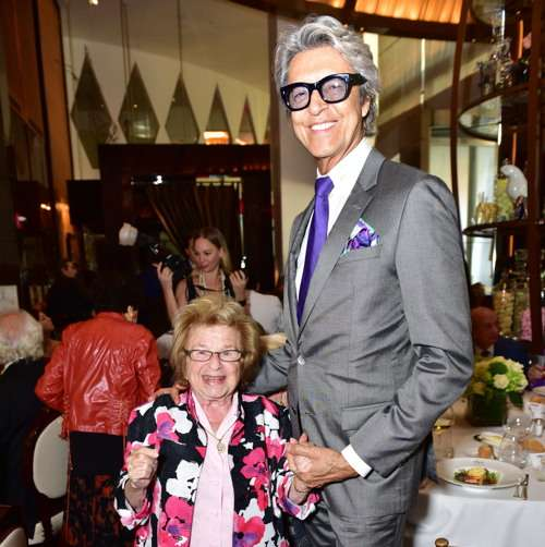 Dr. Ruth Westheimer, Tommy Tune== Lifeline NY Annual Benefit Luncheon== Le Cirque, NY== October 5, 2016== ©Patrick McMullan== Photo - Sean Zanni/PMC== ==