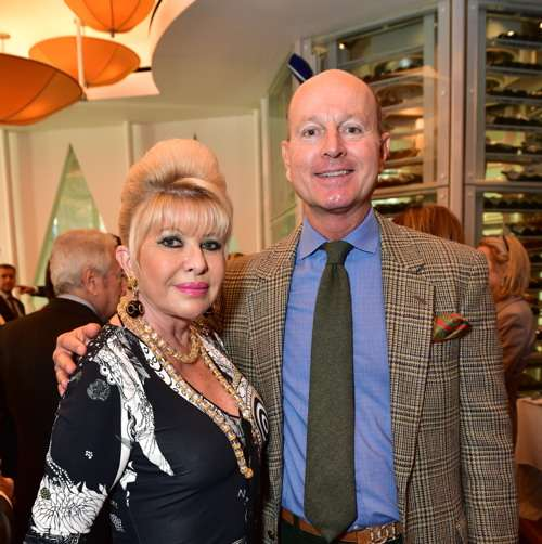 Ivana Trump, Prince Dimitri of Serbia== Lifeline NY Annual Benefit Luncheon== Le Cirque, NY== October 5, 2016== ©Patrick McMullan== Photo - Sean Zanni/PMC== ==