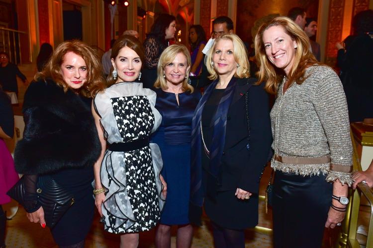 Joan Jedell, Jean Shafiroff, Congresswoman Carolyn Maloney, and Francine LeFrak ©Patrick McMullan== Photo - Sean Zanni/PMC== ==