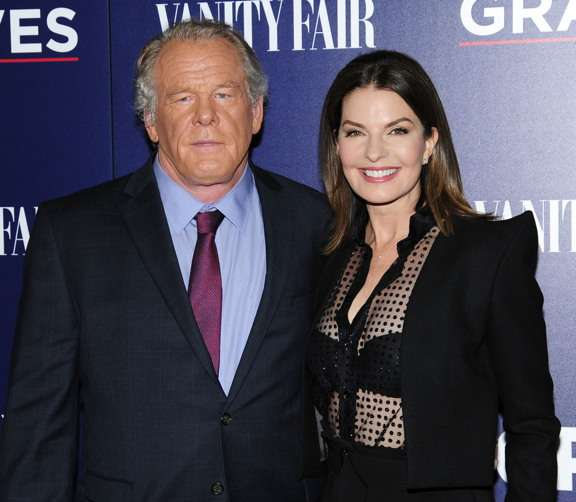 "Nick Nolte, Sela Ward== EPIX and Vanity Fair Host the Premiere of EPIX Original Series ""Graves""== MoMA, NYC== October 5, 2016== ©Patrick McMullan== Photo - Paul Bruinooge/PMC== =="