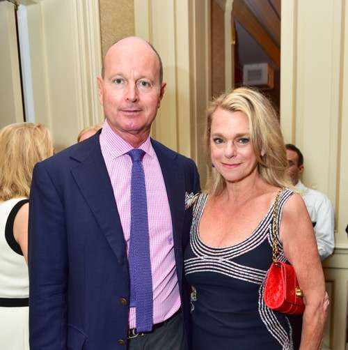 "Prince Dimitri of Yugoslavia, Deborah Bancroft== Jay McInerney Book Party for ""Bright, Precious Days"" Hosted by Audrey Gruss== 21 Club, NY== October 4, 2016== ©Patrick McMullan== Photo - Sean Zanni/PMC== =="