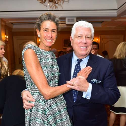 """Somers Farkas, Dennis Busso== Jay McInerney Book Party for """"Bright, Precious Days"""" Hosted by Audrey Gruss== 21 Club, NY== October 4, 2016== ©Patrick McMullan== Photo - Sean Zanni/PMC== =="""