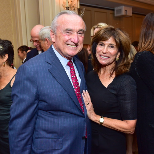 "William Bratton, Rikki Klieman== Jay McInerney Book Party for ""Bright, Precious Days"" Hosted by Audrey Gruss== 21 Club, NY== October 4, 2016== ©Patrick McMullan== Photo - Sean Zanni/PMC== =="