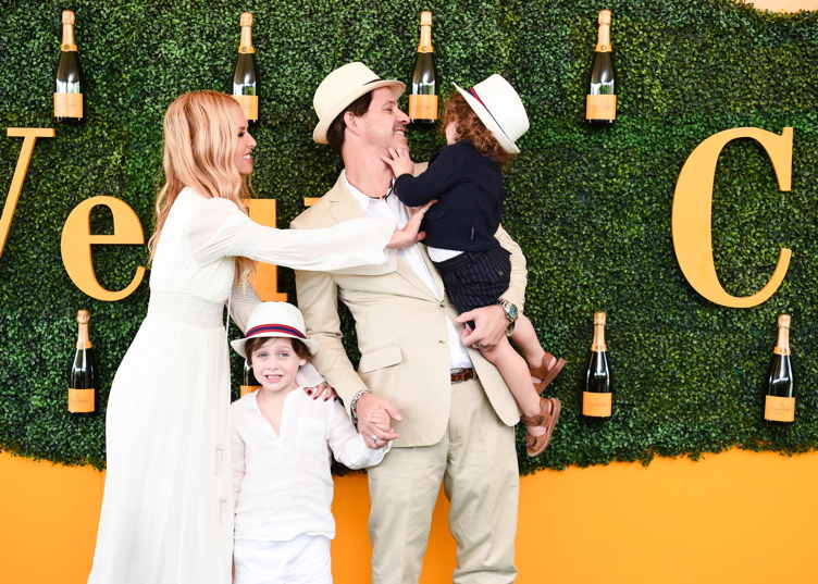 Rachel Zoe, Roger Berman and sons