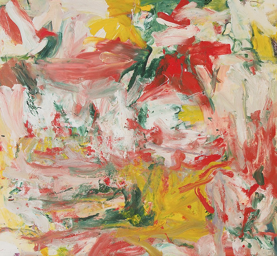 """Willem de Koon- ing, Untitled, 1976-77 (est. $8–$12 million), from """"The Triumph of Paint- ing: The Steven and Ann Ames Collection,"""" at Sotheby's Contem- porary Art Evening Auction, November 17, 2016"""