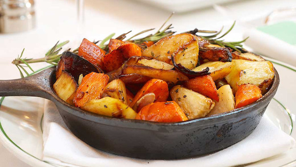 Smith Wollensky Duckfat Roasted Vegetables