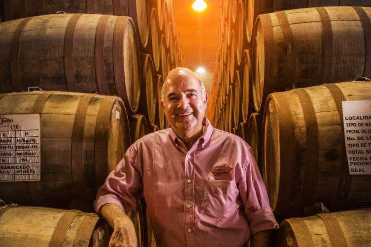 Tequila Don Julio Master Distiller Enrique de Colsa