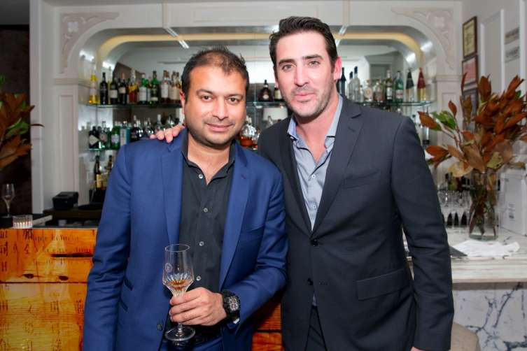 Publisher & CEO, Kamal Hotchandani and New York Mets Starting Pitcher, Matt Harvey