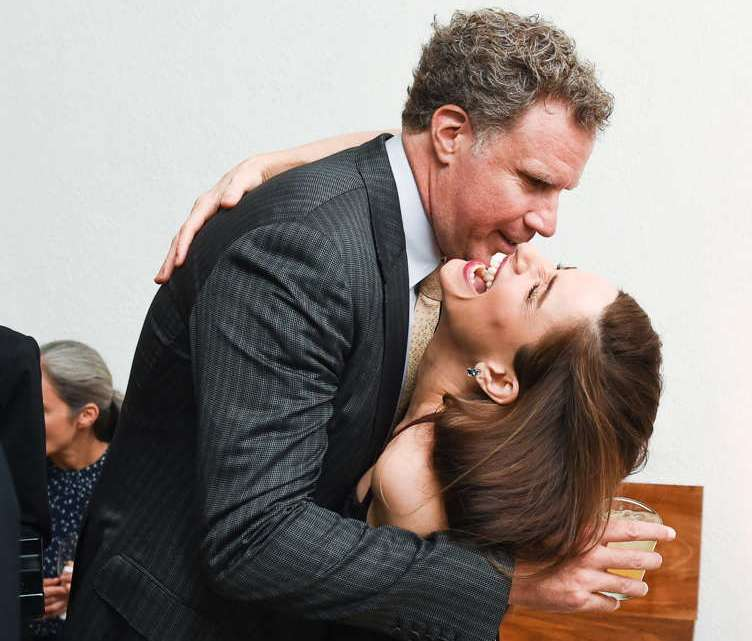 Will Ferrell and Amanda Peet