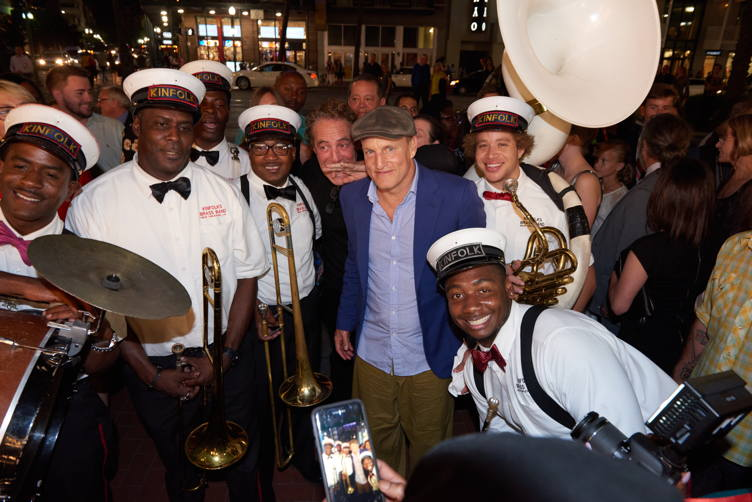 Woody Harrelson at the opening night of the New Orleans Film Festival