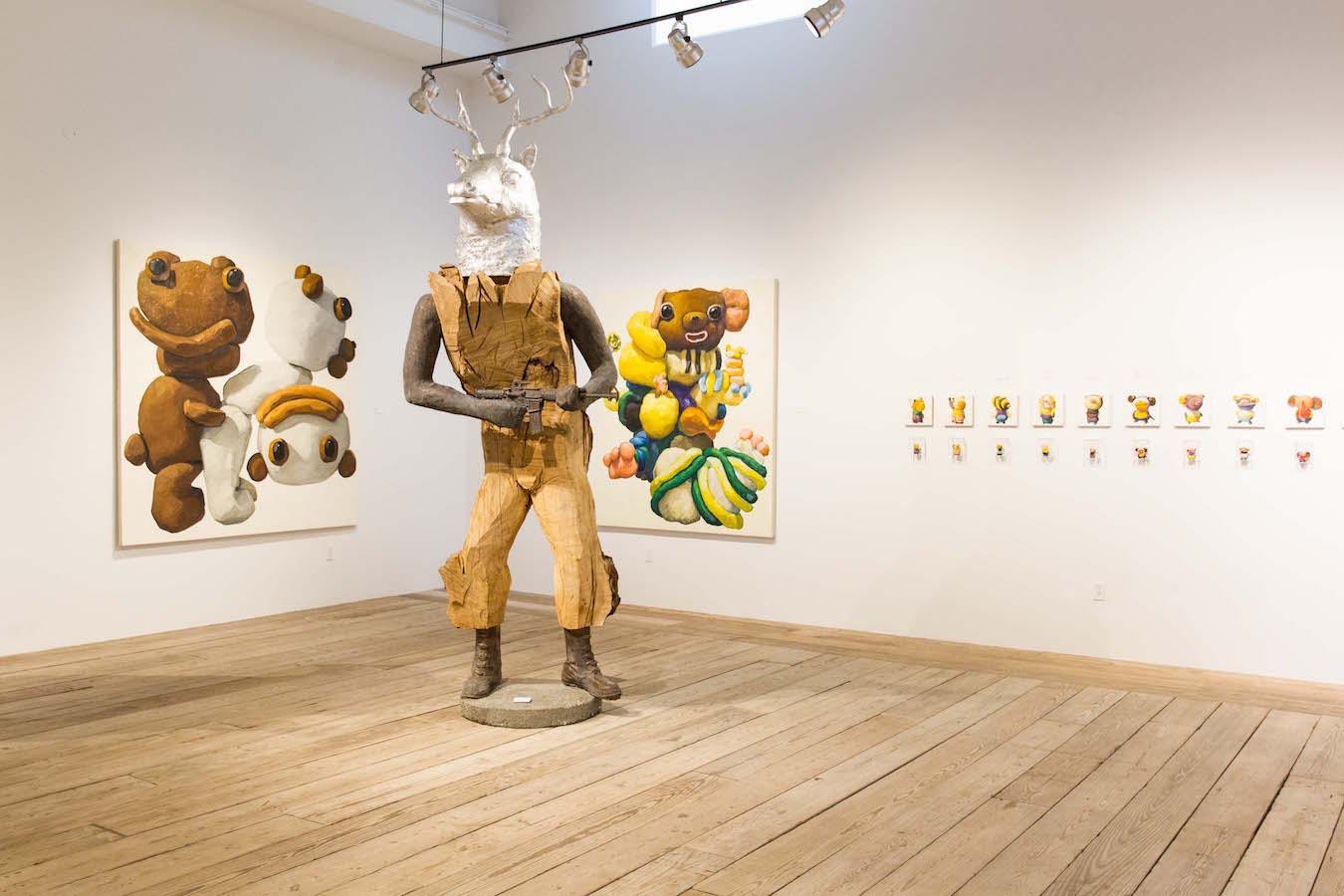 Coup d\'Etat Harry Siter Art Show Fall 2016