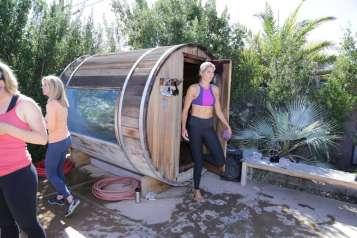 gabby sauna