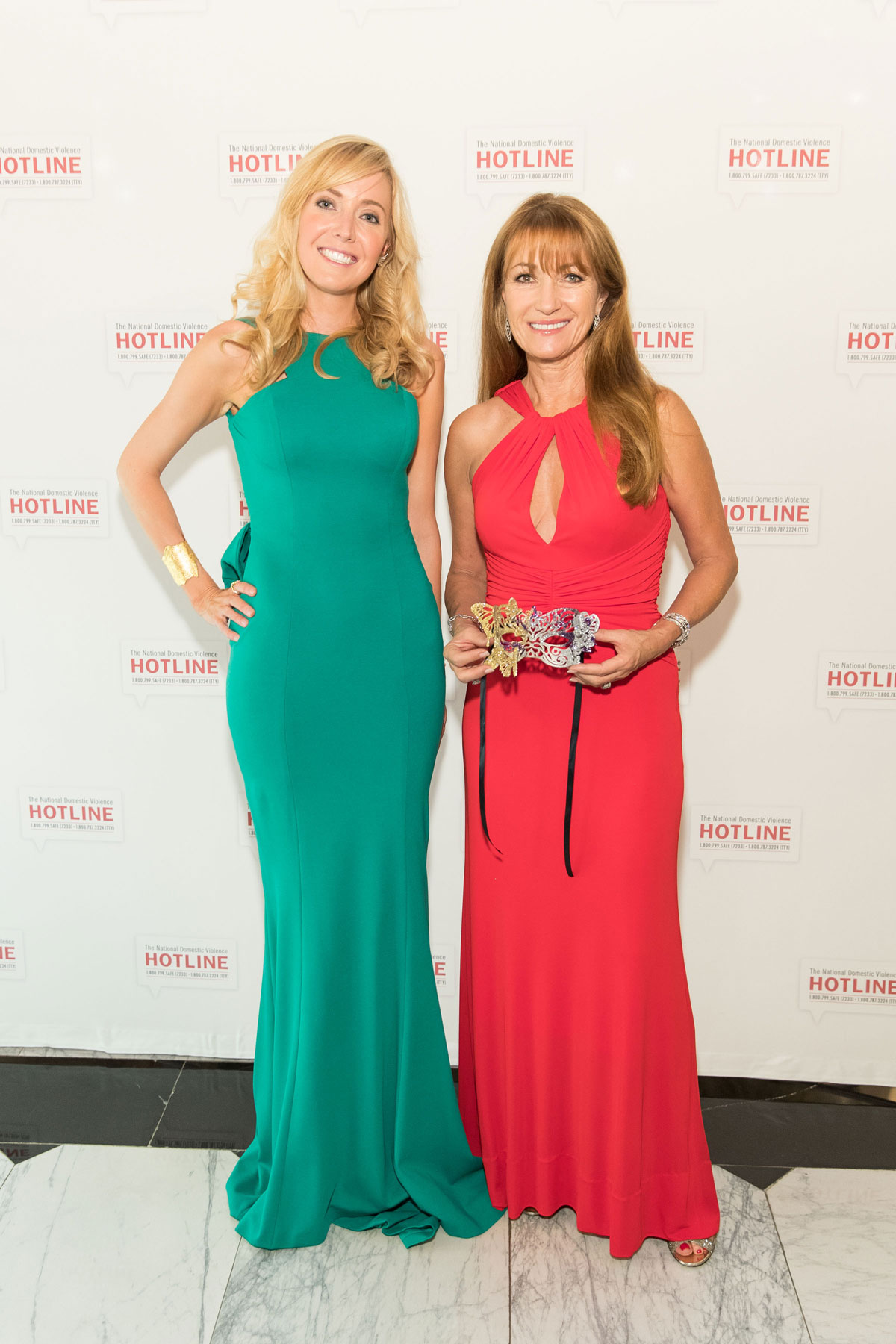 Sue Somersall and Jane Seymour