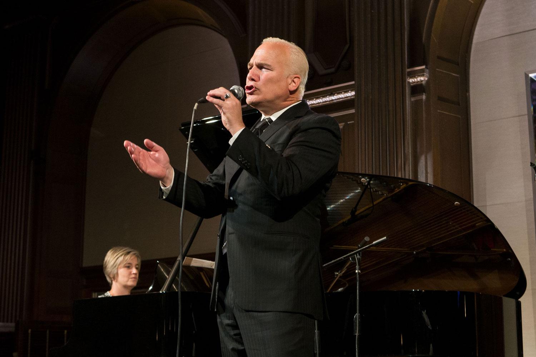 Franc D'Ambrosio performs