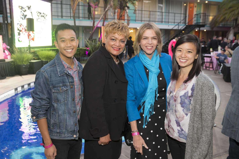 Jess Mallari, LaTonya Lawson, Beth Schnitzer, and Karen Shing