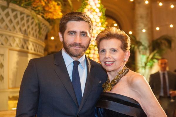 Jake Gyllenhaal and Adrienne Arsht Credit: Stephanie Berger